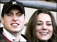 Prince William and Catherine Middletown Wedding